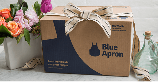 how to give blue apron as a gift