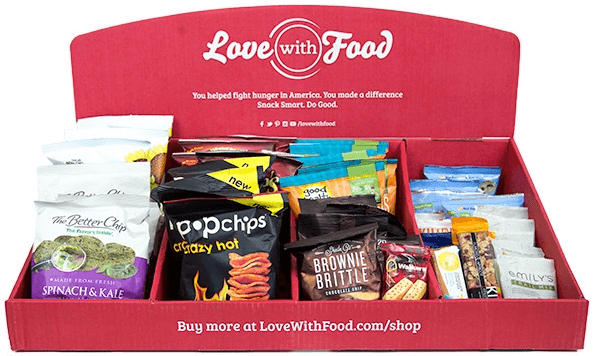 Love With Food Review – A Healthy Way To Snack