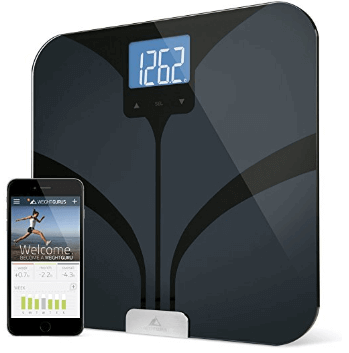 Weight Gurus Bluetooth Smart Scale Reviews Jitter Fitness