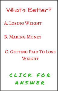 how to make money losing weight with healthywage