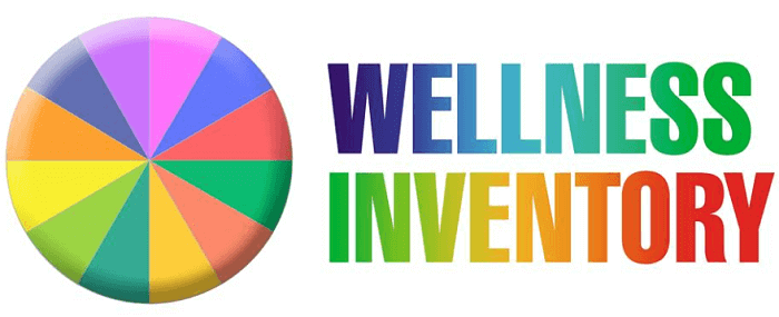 Wellness Wheel Personal Health Inventory Review