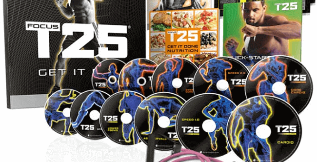 focus t25 workout dvds