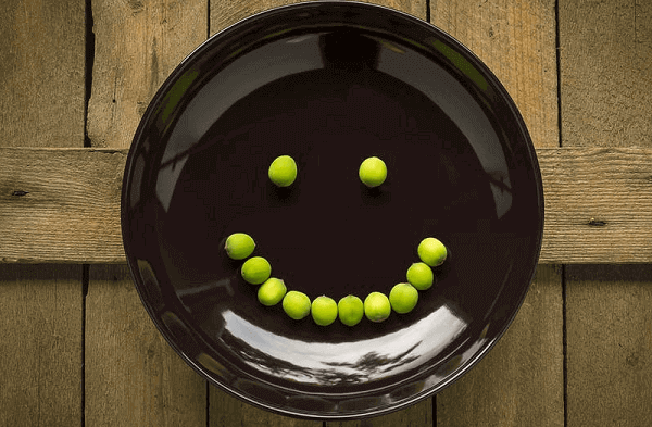 Plate With Smiley Face Jitter Fitness