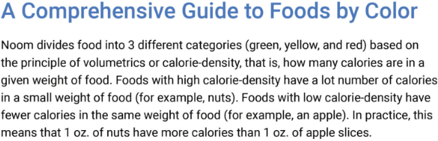 Noom S Green Foods List How To Eat More And Still Lose Weight