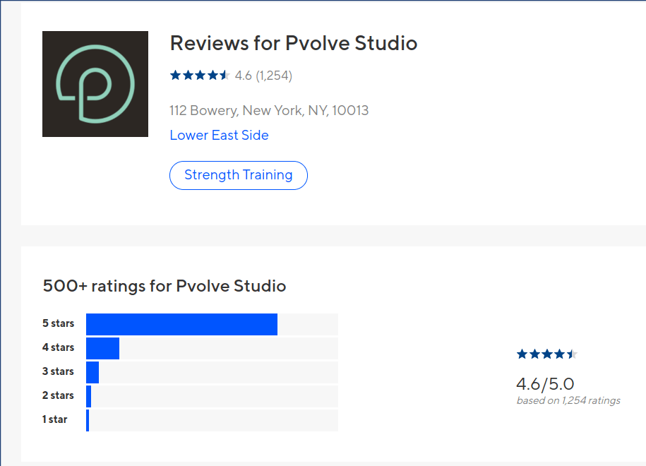 pvolve customer reviews